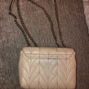Kate Spade Cream Quilted Crossbody Purse